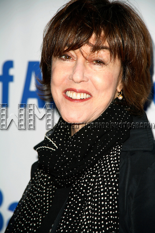 Nora Ephron.arriving for the Public Theater's Annual Gala honoring David Rockwell and The Opening Night Performance  of HAMLET at Shakespeare In The Park, Delacorte Theater Central Park, New York City..June 17, 2008.