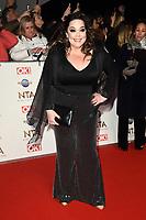 Lisa Riley<br /> arriving for the National TV Awards 2020 at the O2 Arena, London.<br /> <br /> ©Ash Knotek  D3550 28/01/2020