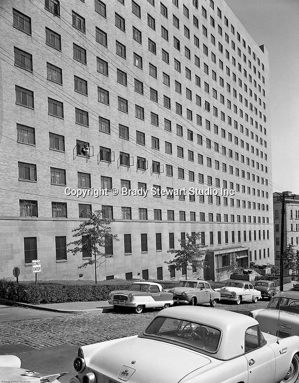 Pittsburgh PA:  View of the University of Pittsburgh's Nurses Retirement Home in Oakland - 1958.  Ingham & Boyd started designing fine residences throughout Western Pennsylvania, especially in Edgeworth and Sewickley (1911).  They evolved into designing and building public sector and educational institutions.  Ingham & Boyd evolved into Ingram, Boyd & Pratt when Ingham's son, Charles S. Ingham, and Thomas C. Pratt joined the partnership. The successor firm is IKM, Inc.