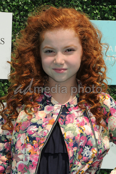 16 May 2015 - Santa Monica, California - Francesca Capaldi. 2nd Annual OCRF Super Saturday LA held at Barker Hangar. Photo Credit: Byron Purvis/AdMedia