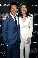 Destin Daniel Cretton und Jeannette Walls bei der Premiere des Kinofilms 'The Glass Castle / Schloss aus Glas' im SVA Theater. New York, 09.08.2017