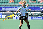 The Hague, Netherlands, June 13: Eileen Hoffmann #11 of Germany in action during the field hockey placement match (Women - Place 7th/8th) between Korea and Germany on June 13, 2014 during the World Cup 2014 at Kyocera Stadium in The Hague, Netherlands. Final score 4-2 (2-0)  (Photo by Dirk Markgraf / www.265-images.com) *** Local caption ***