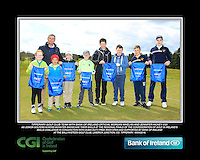 Tipperary GC team with Bank of Ireland Official Morgan Whelan and CGI Participation Officer Jennifer Hickey with Junior golfers across Munster practicing their skills at the regional finals of the Dubai Duty Free Irish Open Skills Challenge at the Ballykisteen Golf Club, Limerick Junction, Co. Tipperary. 16/04/2016.<br /> Picture: Golffile | Thos Caffrey<br /> <br /> <br /> <br /> <br /> <br /> All photo usage must carry mandatory copyright credit (© Golffile | Thos Caffrey)