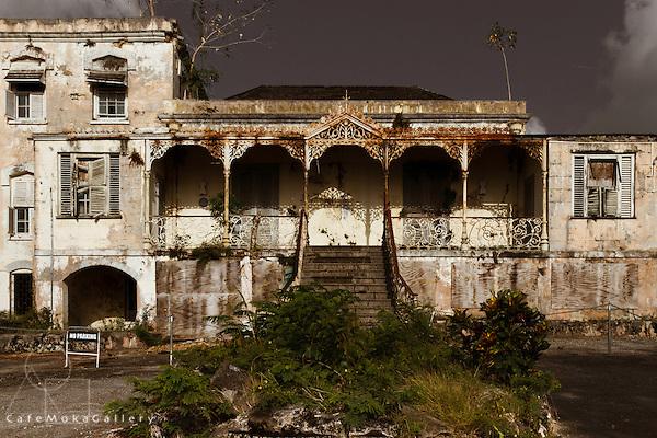 Eyrie Hall plantation house
