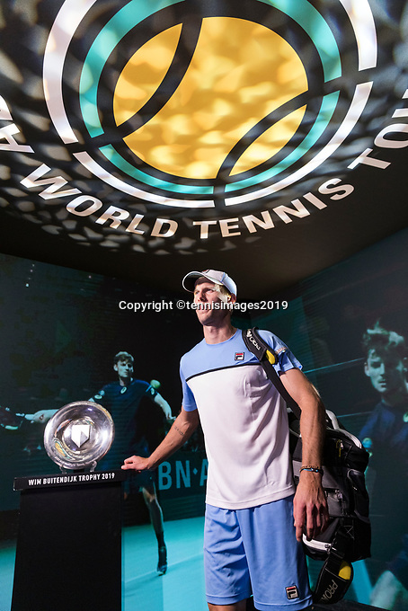 Rotterdam, The Netherlands, 11 Februari 2019, ABNAMRO World Tennis Tournament, Ahoy, first round match: Andreas Seppi (ITA), <br /> Photo: www.tennisimages.com/Henk Koster