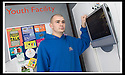 01/02/2008    Copyright Pic: James Stewart.File Name : 08_xpod.FALKIRK COUNCIL :: XPOD.YOUTH WORKER KEVIN CLOUGH IN THE XPOD AT FALKIRK MEADOWS.....James Stewart Photo Agency 19 Carronlea Drive, Falkirk. FK2 8DN      Vat Reg No. 607 6932 25.Studio      : +44 (0)1324 611191 .Mobile      : +44 (0)7721 416997.E-mail  :  jim@jspa.co.uk.If you require further information then contact Jim Stewart on any of the numbers above........