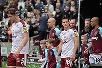 Players arrive during West Ham United vs Burnley, Premier League Football at The London Stadium on 10th March 2018