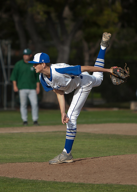 Palo Alto High School at Los Altos High School boys varsity baseball, March 27, 2013.  Palo Alto wins 9-1..