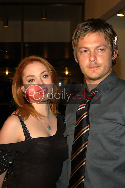 Rose McGowan and Norman Reedus