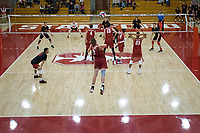 Stanford Volleyball M vs Calgary, December 30, 2017