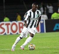 BOGOTA - COLOMBIA - 14-09-2015: Marlos Moreno jugador del Atletico Nacional en accion  contra  el Deportes Tolima  durante partido  por la fecha 12 de la Liga Aguila II 2015 jugado en el estadio Nemesio Camacho El Campin. / Marlos Moreno player of Atletico Nacional   in actions  against of Deportes Tolima  during a match for the twelve date of the Liga Aguila II 2015 played at Nemesio Camacho El Campin stadium in Bogota city. Photo: VizzorImage / Felipe Caicedo / Staff.