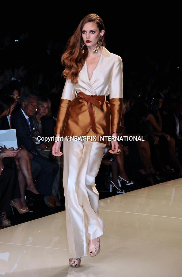 "MARIELLA BURANI.Spring/Summer 2010 Collection, Milan Fashion Week, Milano_28/09/2009.Mandatory Credit Photo: ©NEWSPIX INTERNATIONAL..**ALL FEES PAYABLE TO: ""NEWSPIX INTERNATIONAL""**..IMMEDIATE CONFIRMATION OF USAGE REQUIRED:.Newspix International, 31 Chinnery Hill, Bishop's Stortford, ENGLAND CM23 3PS.Tel:+441279 324672  ; Fax: +441279656877.Mobile:  07775681153.e-mail: info@newspixinternational.co.uk"