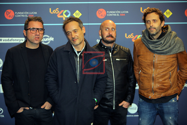 Los 40 MUSIC Awards 2016 - Photocall.<br /> Love of Lesvian.