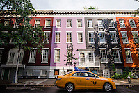 New York, NY 15 July 2014 - MacDougal Street in Greenwich VIllage ©Stacy Walsh Rosenstock/Alamy