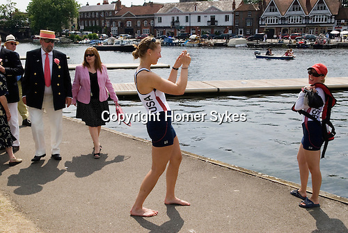 Henley Royal Regatta, Henley on Thames, Oxfordshire, England. 2006