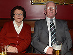Paddy and Kitty Geraghty pictured at the Mattock Rangers awards night in Watters of Collon. Photo: Colin Bell/pressphotos.ie