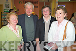 Pictured at Kerry Airport on Saturday night for the Kerry MS pilgrimage to Lourdes were Mary Dineen, Ballyheigue, Eamon Mulvihill, Eyeries, Peggy Carroll and Doreen Collins, Kilmoyley...   Copyright Kerry's Eye 2008
