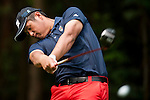 Kai-Jen Tsai of Chinese Taipei in action during the 9th Faldo Series Asia Grand Final 2014 golf tournament on March 19, 2015 at Faldo course in Mid Valley clubhouse in Shenzhen, China. Photo by Xaume Olleros / Power Sport Images
