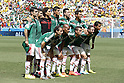 Mexico team group line-up (MEX),<br /> JUNE 29, 2014 - Football / Soccer : FIFA World Cup Brazil<br /> match between Netherlands and Mexico at the Castelao stadium in Fortaleza, Brazil. (Photo by AFLO)