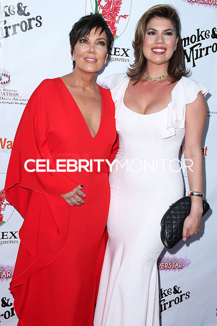 BEVERLY HILLS, CA, USA - SEPTEMBER 13: Kris Jenner and Tanya Callau arrive at the Brent Shapiro Foundation For Alcohol And Drug Awareness' Annual 'Summer Spectacular Under The Stars' 2014 held at a Private Residence on September 13, 2014 in Beverly Hills, California, United States. (Photo by Xavier Collin/Celebrity Monitor)