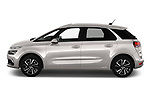 Car driver side profile view of a 2018 Citroen C4 Spacetourer Business + 5 Door MPV