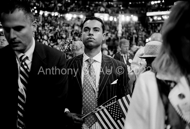 Denver, Colorado<br /> August 27, 2008<br /> <br /> Delegates look on as Democratic Vice President nominee Joe Biden is joined on stage by his wife Jill and the Democratic Presidential nominee Barack Obama.