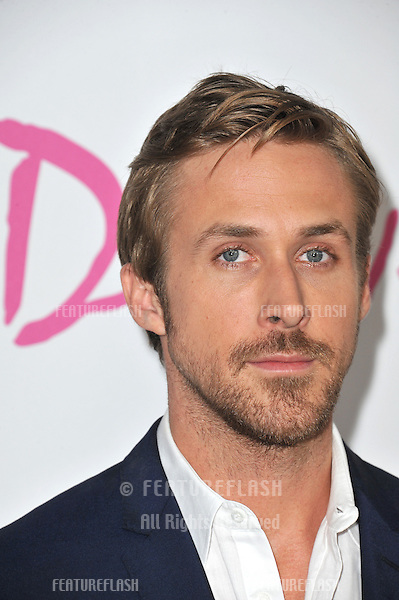 """Ryan Gosling at the Los Angeles Film Festival premiere of his new movie """"Drive"""" at the Regal Cinemas, L.A. Live..June 17, 2011  Los Angeles, CA.Picture: Paul Smith / Featureflash"""
