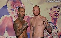 George GROVES v Andrea DI LUISA Weigh-In's - 29.01.2016