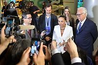 SÃO PAULO, SP - 09.08.2018 - ELEIÇÕES-2018 - Marina Silva, candidata à Presidência da República pelo REDE, durante debate da TV Bandeirantes, realizado na sede da emissora no bairro do Morumbi em São Paulo, na noite desta quinta-feira, 09.(Foto: Levi Bianco/Brazil Photo Press)