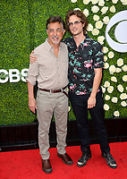 Joe Mantegna &amp; Matthew Gray Gubler at CBS TV's Summer Soiree at CBS TV Studios, Studio City, CA, USA 01 Aug. 2017<br /> Picture: Paul Smith/Featureflash/SilverHub 0208 004 5359 sales@silverhubmedia.com