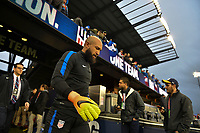 San Jose, CA - March 24, 2017: The U.S. Men's National team go up against Honduras in their 2018 FIFA World Cup Qualifying Hexagonal match at Avaya Stadium.