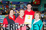 The staff from Hegarty's Spar, Muckross road Killarney with their Hygiene and Safety award l-r: Úna O'Connor, Malgorzata Kiezel, Ross Fleming and Margaret Campbell