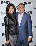 Julie Chen & Les Moonves attends the official launch party for the most anticipated video game of the year RAGE in ChinaTown in Los Angeles, California on September 30,2011                                                                               © 2011 Hollywood Press Agency