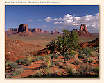 Artist's Point in Monument Valley, Arizona.<br /> John Kieffer offers Monument Valley photo tours. Year-round Utah photo tours.