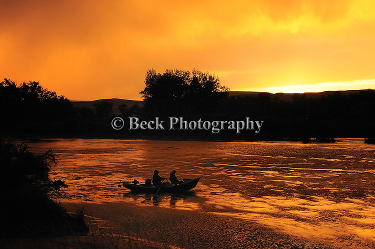 Bighorn River Fort Smith Montana