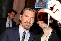 Josh Brolin. MEN IN BLACK 3 cast going for dinner at Borchardt restaurant, Berlin, 14.05.2012..Credit: SEKA/face to face /MediaPunch Inc. ***FOR USA ONLY***