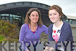 TOP MARKS: Mercy Mounthawk student Alanna Clerkin from Ballymac pictured with her mom Muriel Soden received 600 points in her Leaving Cert and is going on to study Communication in DCU.