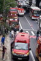 SAO PAULO, SP, 16 DE MAIO DE 2012 - ACIDENTE METRO -  Dois trens do metro se chocaram nesta manha de quarta feira entre as estacoes Penha e Carrao, houveram muitas vitimas,porem nenhuma fatal.FOTO: DEBBY OLIVEIRA / BRAZIL PHOTO PRESS