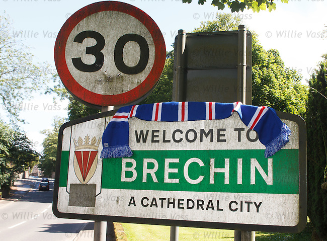 The unexpected journey begins as Rangers are awarded their footballing licence and travel to the Cathedral City of Brechin for their first match outwith the top flight - a Ramsdens Cup match at Glebe Park at the end of July