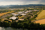 Aerial View of HP in Corvallis, Oregon