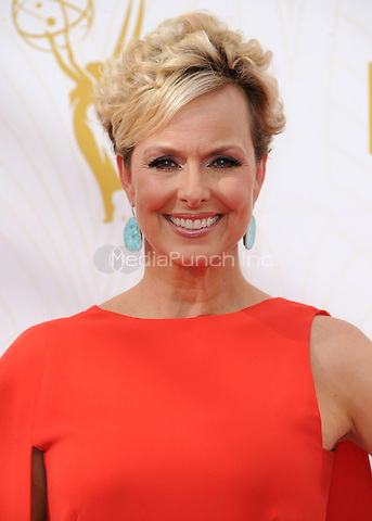LOS ANGELES - SEPTEMBER 20:  Melora Hardin at the 67th Annual Emmy Awards at the Microsoft Theater on September 20, 2015 in Los Angeles, California. Credit: PGSK/MediaPunch