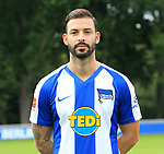 19.07.2019, Sportpark, Berlin, GER, 1.FBL, DFL,, Hertha BSC Mannschaftsfoto 2019-20,<br /> DFL, regulations prohibit any use of photographs as image sequences and/or quasi-video<br /> im Bild Marvin Plattenhardt (Hertha BSC Berlin #21)<br /> <br />       <br /> Foto © nordphoto / Engler