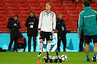 Marcel Halstenberg (Deutschland Germany) - 10.11.2017: England vs. Deutschland, Freundschaftsspiel, Wembley Stadium