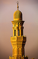 Minaret, The Citadel, Islamic Cairo, Cairo, Egypt