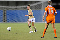 21 August 2011:  FIU's April Perry (6) moves the ball upfield in the second half as the University of Florida Gators defeated the FIU Golden Panthers, 2-0, at University Park Stadium in Miami, Florida.