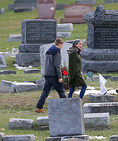 www.acepixs.com<br /> <br /> December 19 2017, Haverstraw NY<br /> <br /> Actors Julia Roberts and Lucas Hedges were on the set of the new movie 'Ben is back' on December 19 2017 in Haverstraw, NY<br /> <br /> By Line: Philip Vaughan/ACE Pictures<br /> <br /> <br /> ACE Pictures Inc<br /> Tel: 6467670430<br /> Email: info@acepixs.com<br /> www.acepixs.com