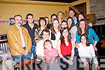 Laura Daly seated centre From Abbeyfeale celebrated her 30th birth with her family at Leen's Hotel Abbeyfeale, on Saturday night..   Copyright Kerry's Eye 2008