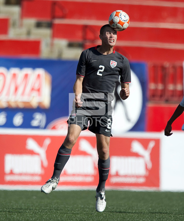 Eriq Zavaleta. The Under-17 US Men's National Team defeated Honduras 3-0 in the 2009 CONCACAF Under-17 Championship on April 25, 2009 in Tijuana, Mexico.