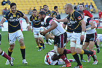 ITM Cup rugby match between Wellington Lions and North Harbour at Westpac Stadium, Wellington, New Zealand on Saturday, 29 September 2012<br />