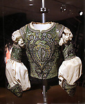 Rudolph Nureyev Ballet Costume for 'Romeo and Juliet' at Curtain Up: Celebrating the Last 40 Years of Theatre in New York and London Exhibition on June 14, 2017 at the New York Public Library for the Performing Arts at Lincoln Center.